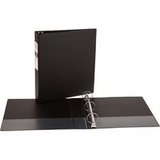AVE 03401 Avery Matte Cover Round Ring Economy Binder AVE03401