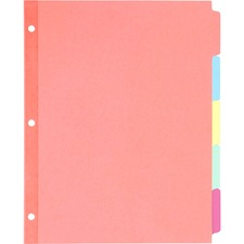 AVE 11508 Avery Write-On Multi Color Tab Dividers AVE11508