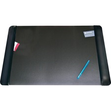 AOP 413861 Artistic Matte Black Executive Desk Pad AOP413861