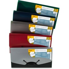 MEA 35904 Mead 13-pocket A-Z Poly Expanding Check File MEA35904