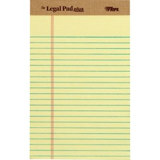 TOP 71501 Tops Legal Pad+ Ruled Perforated Pads TOP71501