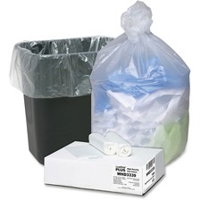 WBI WHD3339 Webster Small Count High-density Can Liners WBIWHD3339