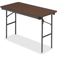 ICE 55304 Iceberg Wood Laminate Economy Folding Table ICE55304
