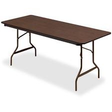 """ICE 55324 Iceberg Wood Laminate 30"""" Economy Folding Table ICE55324"""