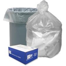 WBI GNT4348 Webster Translucent Waste Can Liners WBIGNT4348