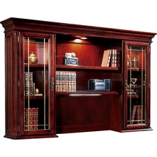 DMI 799064 DMI Office Furn. Keswick Leaded Glass Door Hutch DMI799064