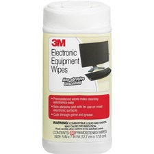MMM CL610 3M Premoistened Electronic Cleaning Wipes MMMCL610