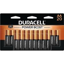 DUR MN1500B20 Duracell Coppertop AA Batteries DURMN1500B20