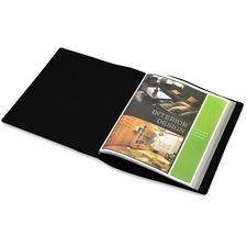 LIO41024BKBX - Lion FILE-N-VIEW 41024BK-BX Presentation Book