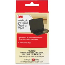 MMM CL630 3M Notebook Screen Cleaning Wipes MMMCL630