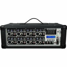PylePro 8-Channel 800 Watts Powered Mixer w/MP3 Input