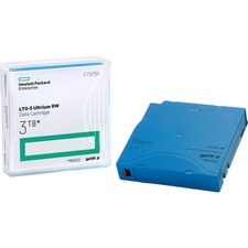 HPE Rewritable LTO 5 Data Cartridge - LTO-5 - 1.50 TB (Native) / 3 TB (Compressed) - 2775.6 ft Tape Length - 1 Pack