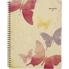 Day Runner Vibrant Watercolors Planner