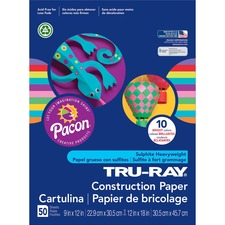 PAC 102940 Pacon Tru-Ray Construction Paper PAC102940