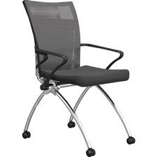MLN TSH1BB Mayline Mesh High-Back Chairs MLNTSH1BB