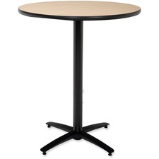KFIT30R2138NA - KFI T30RD-B2115-38 Bar Height Pedestal Utility Table