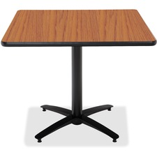 KFIT36SB2125MO - KFI T36SQ-B2125 Pedestal Utility Table