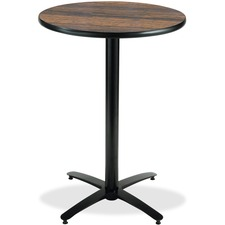 KFIT36R2138WL - KFI T36RD-B2125-38 Bar Height Pedestal Utility Table