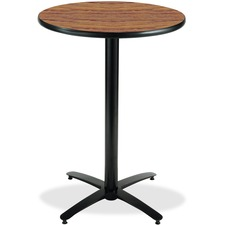 KFIT42R2138MO - KFI T42RD-B2125-38 Bar Height Pedestal Utility Table