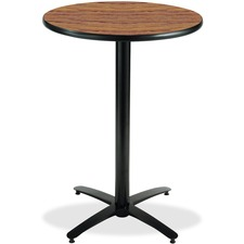 KFIT30R2138MO - KFI T30RD-B2115-38 Bar Height Pedestal Utility Table