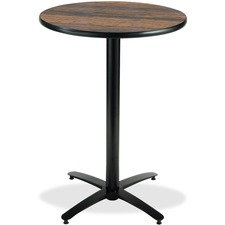 KFIT30R2138WL - KFI T30RD-B2115-38 Bar Height Pedestal Utility Table