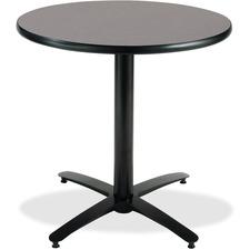 KFIT36RB2125GR - KFI T36RD-B2125 Pedestal Utility Table