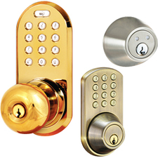 Morning QF-01P 3-in-1 Deadbolt Design Keypad or Key Access Control System