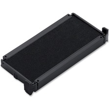 Trodat Replacement Ink Pad - 1 Each - Black Ink