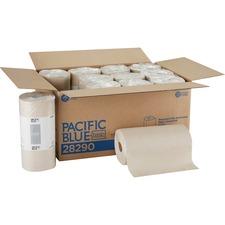 GPC 28290 Georgia Pacific 2-ply Brown Jumbo Roll Towels GPC28290