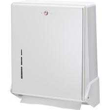 SJM T1905WH San Jamar True Fold Towel Dispenser SJMT1905WH