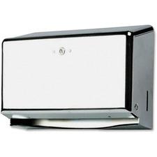 SJM T1950XC San Jamar Mini Combination Hand Towel Cabinet SJMT1950XC