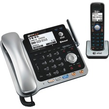 ATT TL86109 AT&T Dect 6.0 2-line Telephone System w/ Handset ATTTL86109