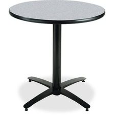 KFIT30RB2115GY - KFI T30RD-B2115 Pedestal Table