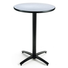 KFIT36R2138GY - KFI T36RD-B2125-38 Bar Height Pedestal Table
