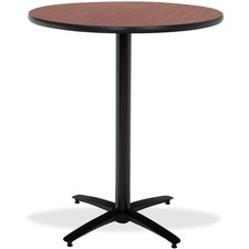 KFIT42R2138MH - KFI T42RD-B2125-38 Bar Height Pedestal Table