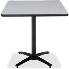 KFIT42S2138GY - KFI T42SQ-B2125-38 Bar Height Pedestal Table