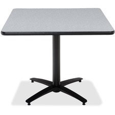 KFIT42SB2125GY - KFI T42SQ-B2125 Pedestal Table