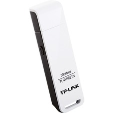 TP-LINK TL-WN821N Wireless N300 USB Adapter, 300Mbps, w/WPS Button IEEE 802.1b/g/n, WEP, WPA/WPA2