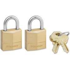 MLK 120T Master Lock Three-Pin Brass Tumbler Locks MLK120T