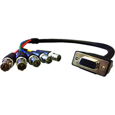 Comprehensive Pro AV/IT Series VGA HD15 jack to 5 BNC jacks cable 6ft