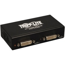 Tripp Lite 2-Port DVI Single Link Video / Audio Splitter / Booster DVIF/2xF
