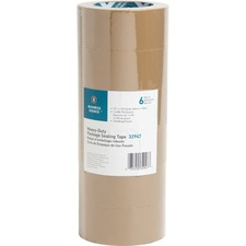 BSN 32947 Bus. Source Tan Packaging Tape BSN32947