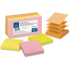 BSN16452 - Business Source Reposition Pop-up Adhesive Notes