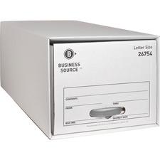 BSN 26754 Bus. Source Drawer Storage Boxes BSN26754