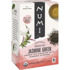 NUM 10108 NUMI Jasmine Green Organic Tea  NUM10108