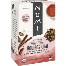 NUM 10200 NUMI Rooibos Chai Organic Tea NUM10200