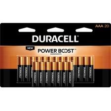 DUR MN2400B20 Duracell Coppertop Alkaline AAA Batteries DURMN2400B20