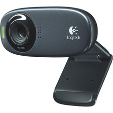 Logitech C310 Webcam - Black - USB 2.0