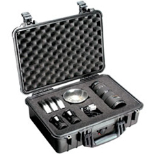 Pelican 1500 Shipping Box with Padded Divider