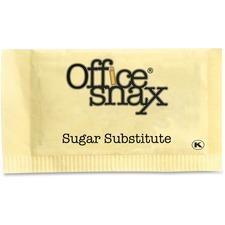 Office Snax Exact Nutrasweet Ylw Sweetener Packs